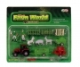 Bondegård lekesett - Farm World, traktor & dyr