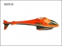 002516 Canopy full set Lama V4 II, Orange